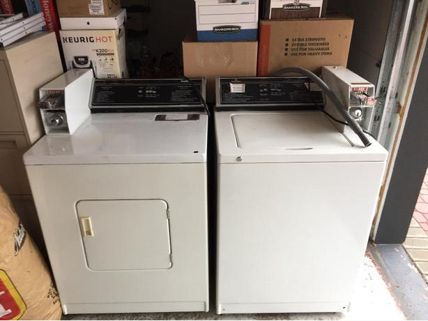 used coin washer and dryer