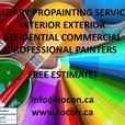 Fresh Painted Homes on Time and Budget! Free Estimate! TOCON Pro Painters