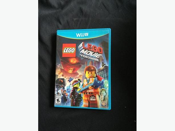 Lego Wii U Games : Lego movie nintendo wii u game esquimalt view royal