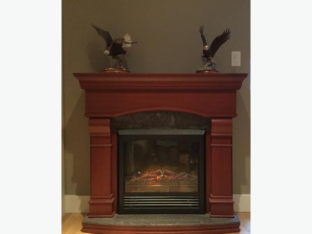 Electric Fireplace Malahat Including Shawnigan Lake