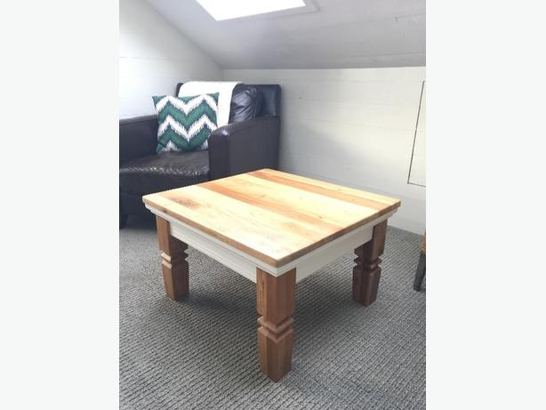 Solid Wood Coffee Table Saanich Victoria