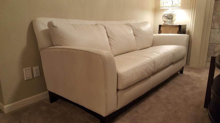 Palliser 100 Leather Sofa Amp Loveseat Central Saanich