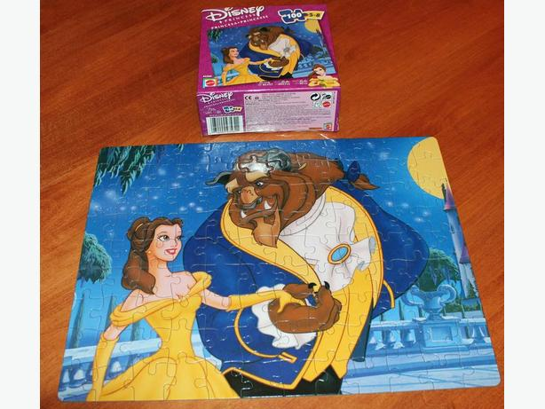 Beauty and the Beast jigsaw puzzle