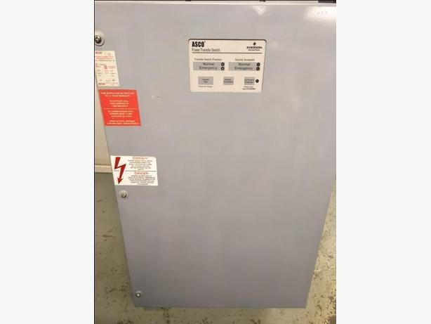 TRANSFER SWITCH AUTOMATIC ASCO 230 Amp 3 Pole
