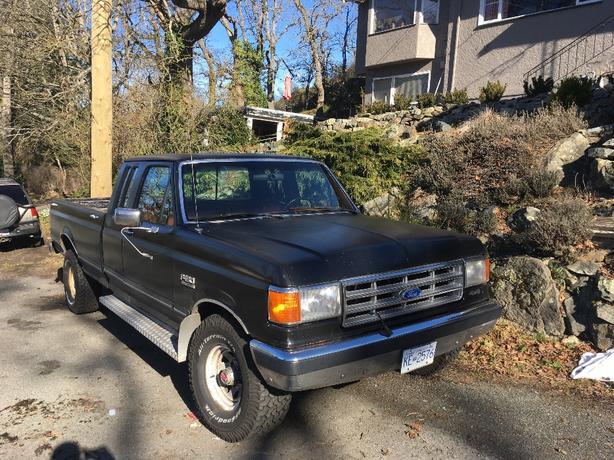 1987 Ford F150 5.0l 4x4 Ext Cab  Long Box