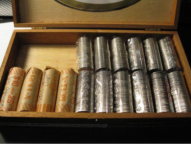 16 rolls of Commemorative coins from 1992 to present