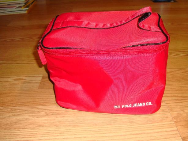 Brand New Polo Jeans Red Insulated Lunch Bag - $5