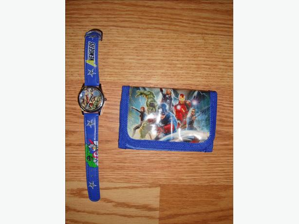 Brand New Avengers Watch and Wallet Set - $10