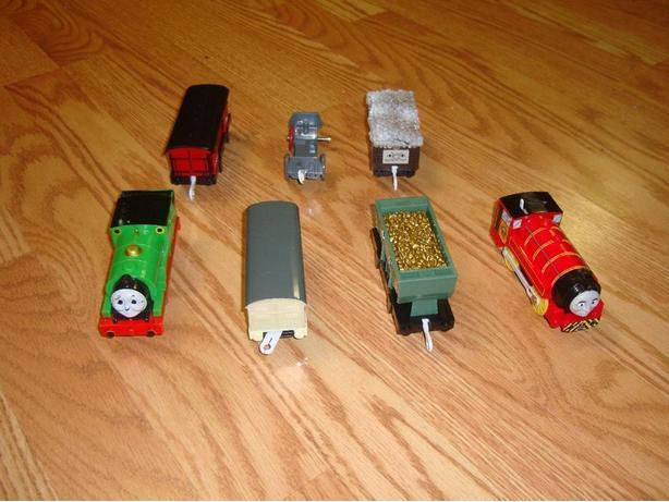 Like New Thomas and Friends Electric Trains - $50 all