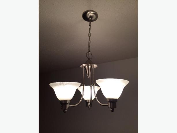 Three Light Hanging Chandelier Victoria City Victoria