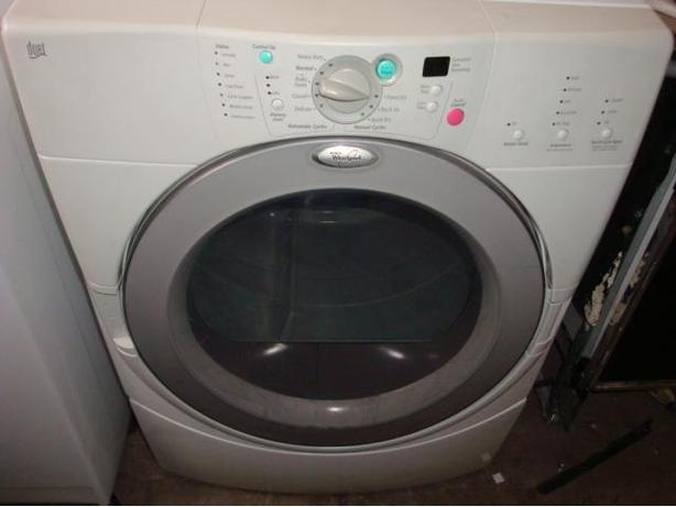 Whirlpool Duet front load dryer