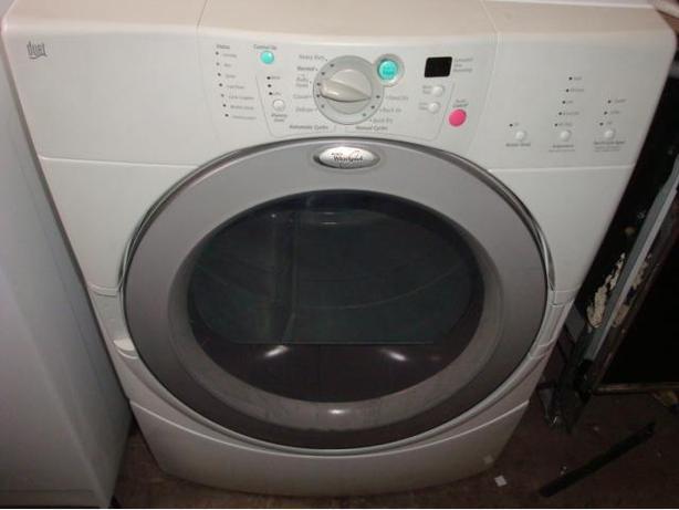 Whirlpool Duet front load dryer