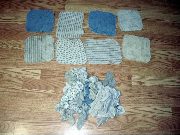 FREE: 30 Face Cloths and 2 Bath Mitts - Free