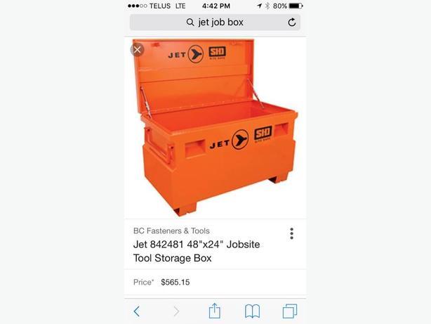 Jet job box