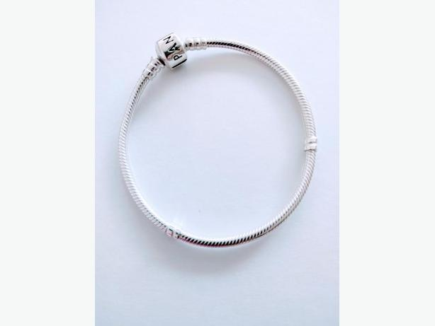 Pandora bracelet sterling silver only $50 obo