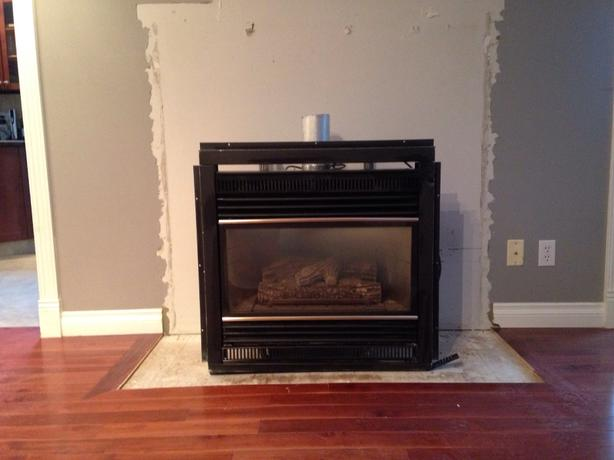 gas or propane fireplace