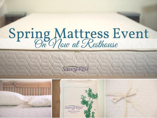 Spring Mattress Event at Resthouse
