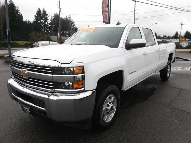 2015 CHEVROLET 2500 CREW CAB LONG BOX 4X4 FOR SALE