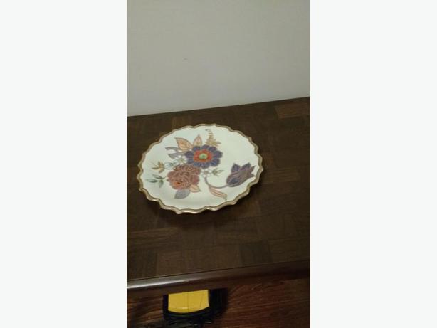 HANDPAINTED NORITAKE DECORATOR PLATE