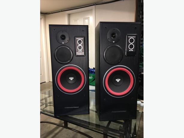 Cerwin Vega E-710 speakers