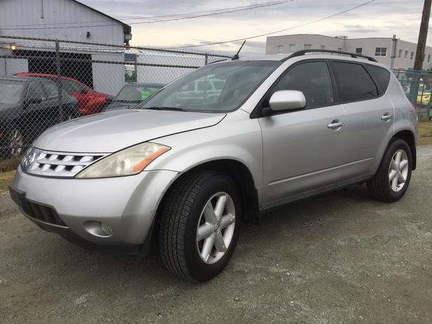 2003 NISSAN MURANO SE LEATHER