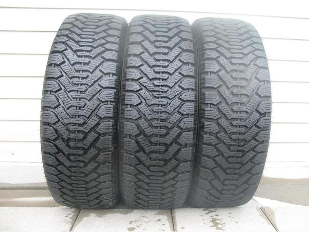 THREE (3) GOODYEAR NORDIC WINTER TIRES /225/60/16/ - $120