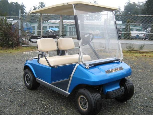 Used Golf Carts Gas And Electric Outside Metro Vancouver