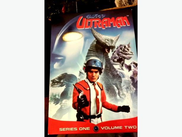 Ultraman DVDs