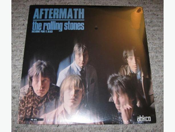 4 Rolling Stones reissue LP's