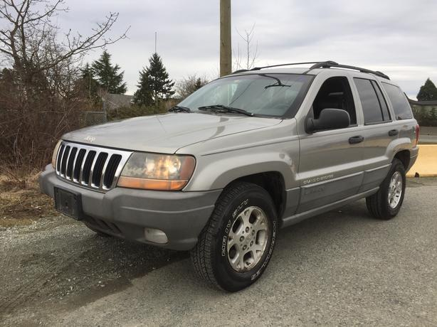 2000 JEEP GRAND CHEROKEE LEATHER