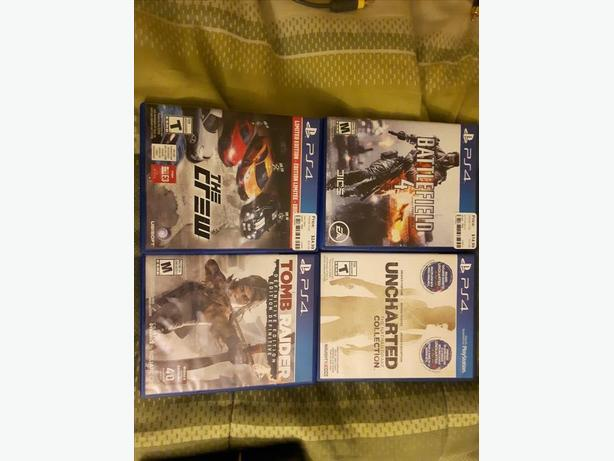 PS4 Games For Sale Open To Offers