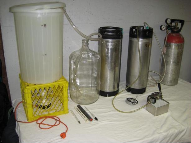 Complete Beer Making and Keg System