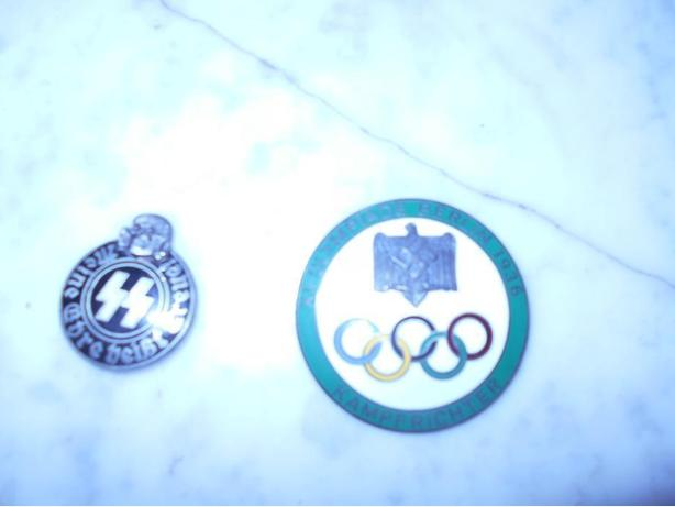 German 1936 and 1940 badges