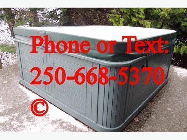 Hot Tub Removal and Disposal Service - Nanaimo Parksville Qualicum Chemainus