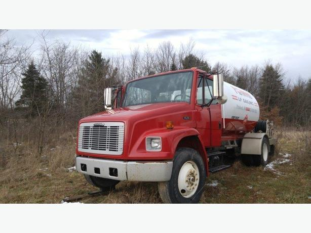 PROPANE HOME HEATING DELIVERY TRUCKS