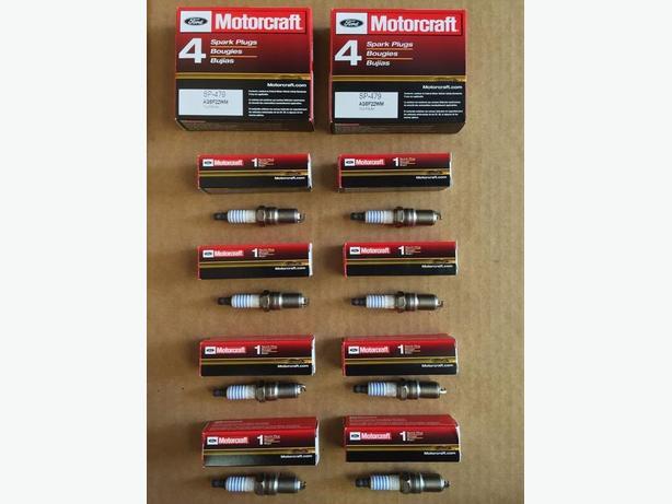 motorcraft sp479  spark plugs for 5.4l - 6.8l fords