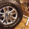 ford f150 chrome rims and tires