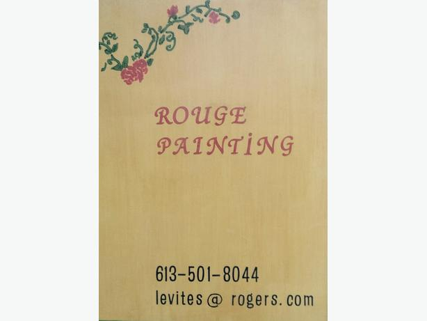 Rouge Painting.