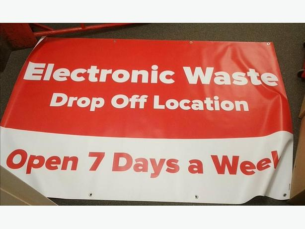 Scouts Canada Electronic Waste Drop Off