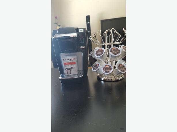 Keurig hot with accessories