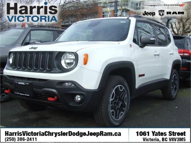 2016 Jeep Renegade Trailhawk Practically New!