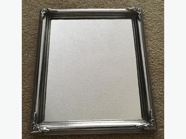 Pewter 8 X 10 mirror