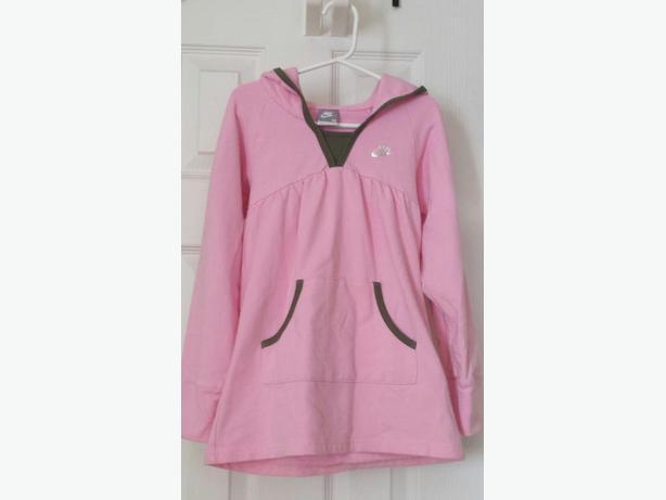 Nike - Girls Nike Pink Dressy Hoodie 6x - mint cond.