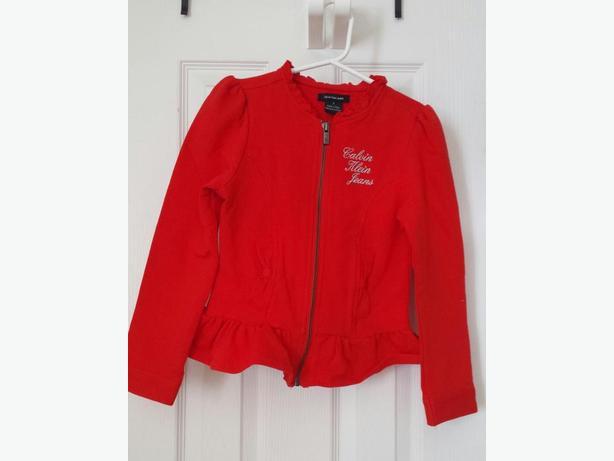Calvin Klein - Girls Dressy Cotton Jacket - mint cond. - size 7