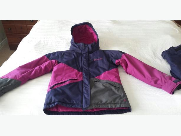 Columbia - Girls Winter Jacket with Snow Pants (Size 10-12)
