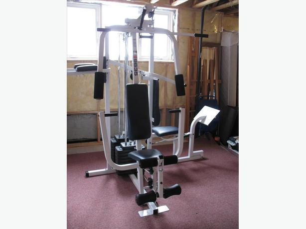 Weider Pro 9635 Multi Station Home Gym Featuring 8 Functions