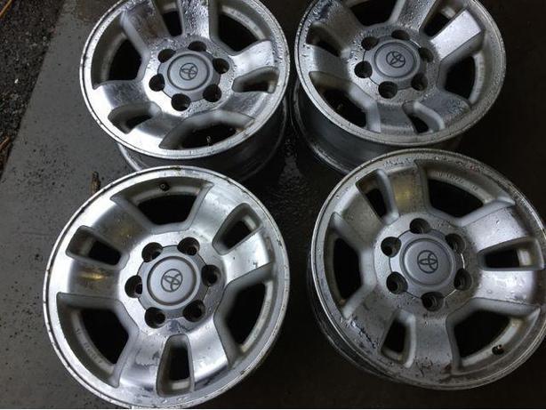 Set of 4 16x7 TOYOTA Aluminium truck wheels