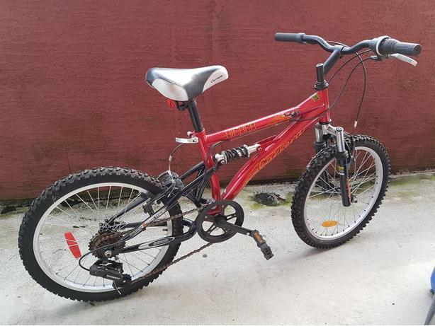 "Carrera ""Kicker"" Youth Mountain Bike - Rarely Used for sale."