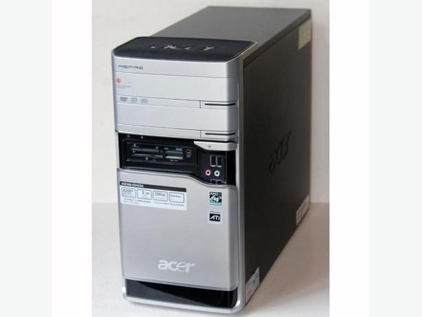 Acer Aspire E380 Desktop PC AMD Dual Core 4GB RAM 320GB HDD DVDRW