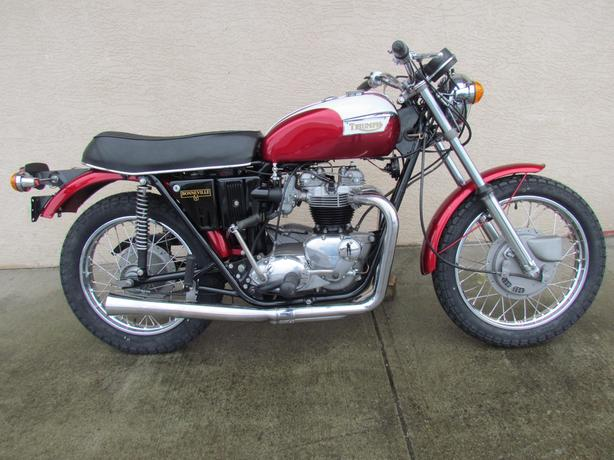 1971 T120R Classic Motorcycle For Sale $10950 Full Restoration
